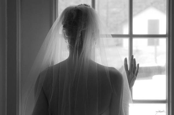 Bride Art Print featuring the photograph The Bride by Melissa Wyatt
