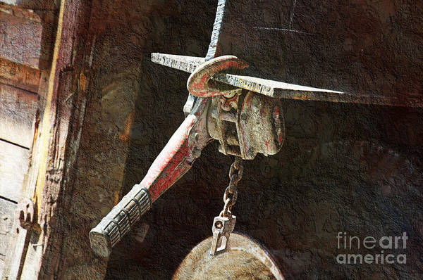 Tool Art Print featuring the photograph The Great Hoist by Andee Design