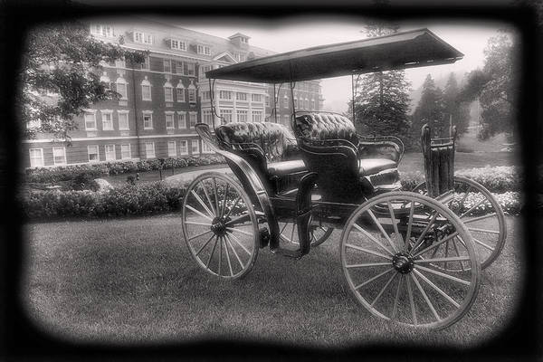 Buggy Art Print featuring the photograph The Homestead Carriage I by Steven Ainsworth