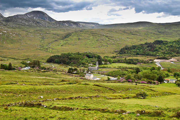 County Donegal Art Print featuring the photograph The Poisoned Glen Dunlewey by Fergal Kearney