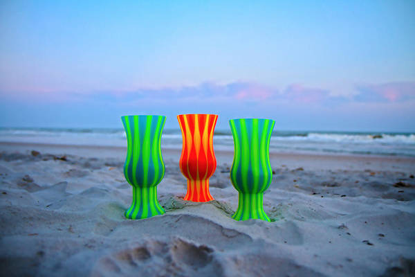 Topsail Art Print featuring the photograph Topsail Hurricane Glasses by Betsy Knapp