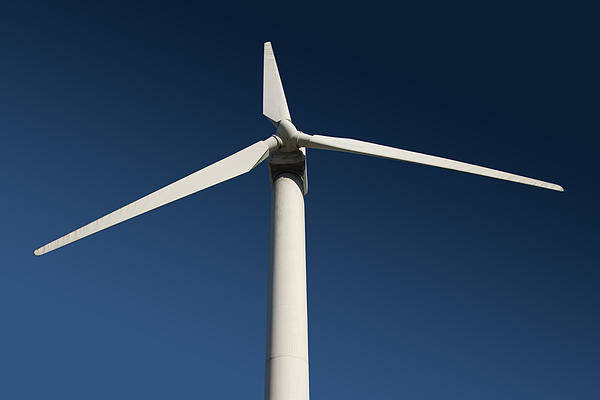 Wind Art Print featuring the photograph Turbine by Brian Middleton
