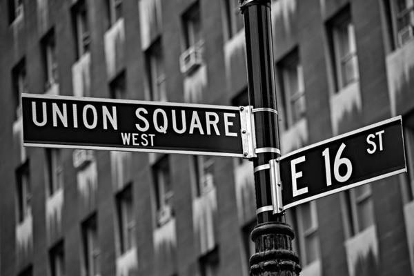 Union Square Art Print featuring the photograph Union Square West by Susan Candelario