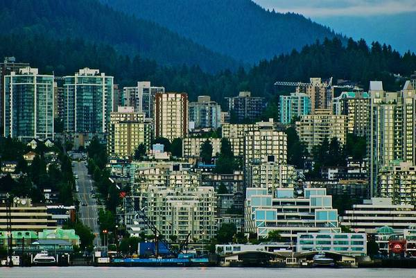 Vancouver Art Print featuring the photograph Vancouver Rooms With A View by Eric Tressler