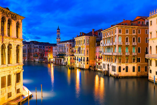 Architecture Art Print featuring the photograph Venice 01 by Tom Uhlenberg