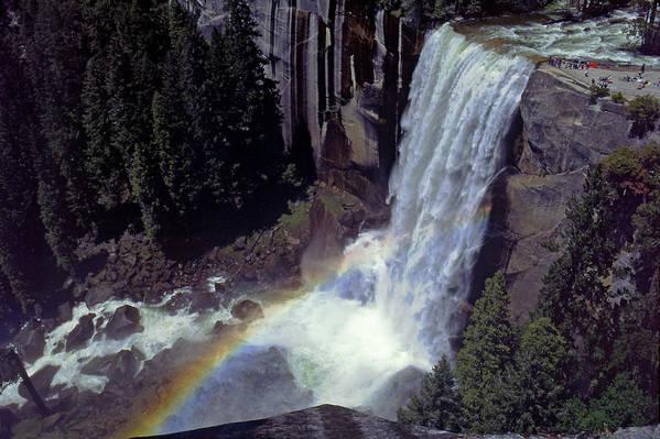 California Art Print featuring the photograph Vernal Falls by Rod Jones