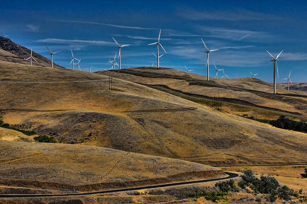 Windmills Print featuring the photograph Visual Pollution by Tim Perry