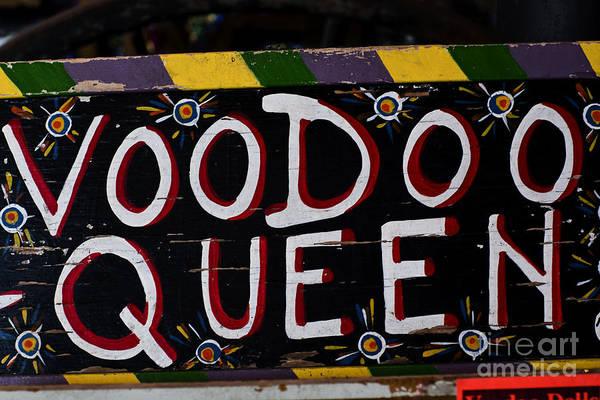 New Orleans Art Print featuring the photograph Voodoo Queen by Leslie Leda