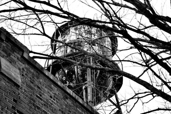 Water Art Print featuring the photograph Water Tower by Lizabeth Hanes