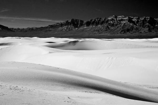 White Sands National Monument Art Print featuring the photograph White In White Sands by Ralf Kaiser