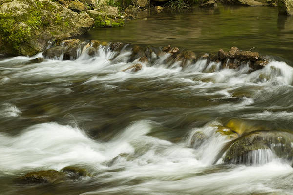 Whitewater Art Print featuring the photograph Whitewater River Rapids 3 by John Brueske