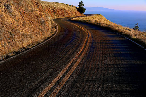 Road Art Print featuring the photograph Winding Road by Garry Gay