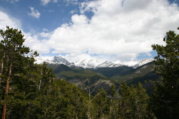 Rocky Mountain National Park Art Print featuring the photograph WoW by Russell Skov