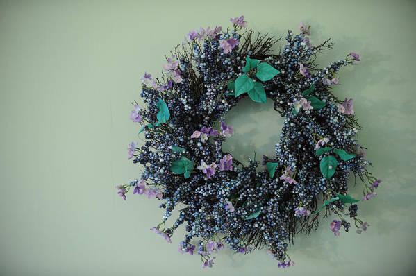 Wreath Art Print featuring the photograph Wreath by Brandon McNabb