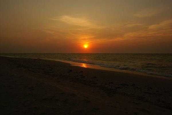 Digital Photo Art Print featuring the photograph Yukatan Sunset by Christy Leigh