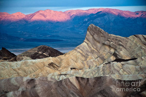 Park Art Print featuring the photograph Zabriskie Point Dawn by Jim Chamberlain
