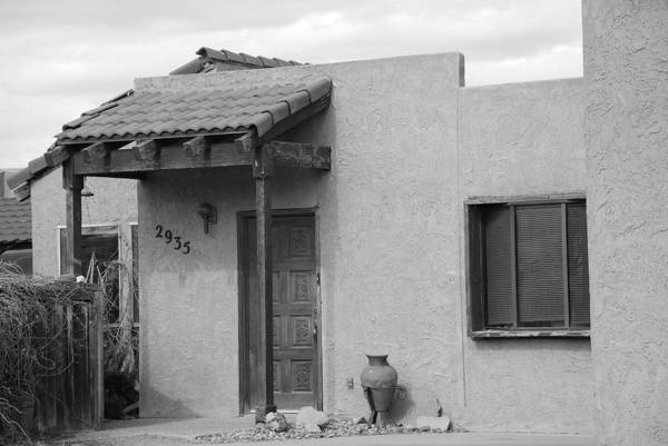 Architecture Art Print featuring the photograph Adobe House by Rob Hans