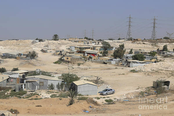 Israel Art Print featuring the photograph Unrecognized, Beduin Shanty Township by Lilach Weiss