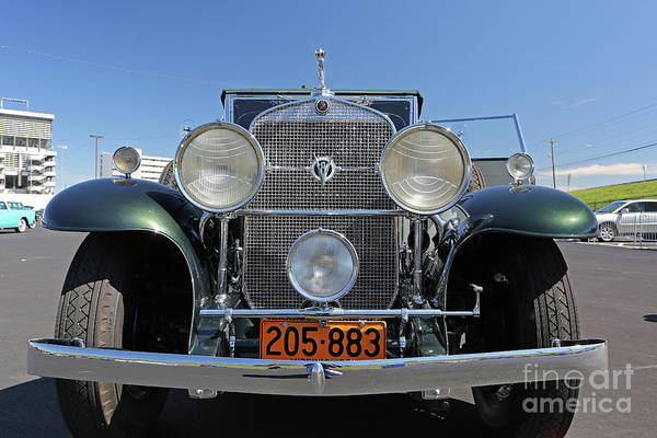 Classic Cars Art Print featuring the photograph 1931 Cadillac Automobile by Kevin McCarthy
