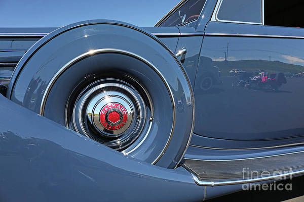 Classic Cars Art Print featuring the photograph 1937 Packard Automobile by Kevin McCarthy