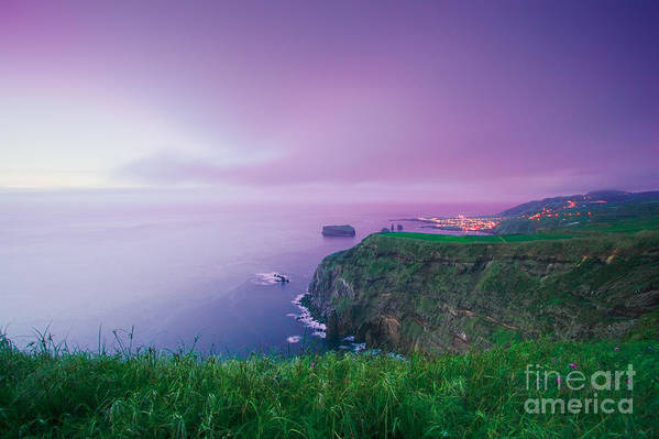 Azoren Art Print featuring the photograph Azores Coastal Landscape by Gaspar Avila