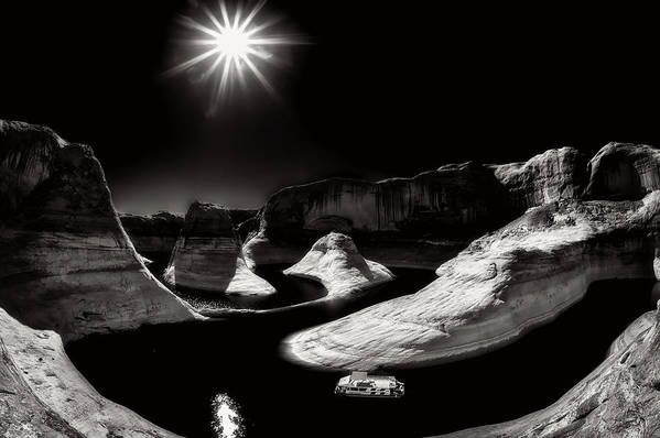 Lake Powell Art Print featuring the photograph Beautiful Lake Powell by Gary Ladd