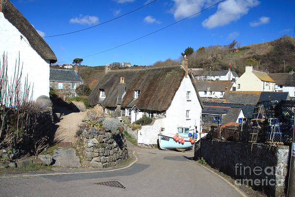 Cadgwith Art Print featuring the photograph Cadgwith by Carl Whitfield