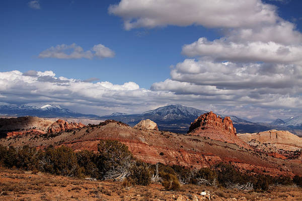 Capitol Reef National Park Art Print featuring the photograph Capitol Reef National Park Burr Trail by Mark Smith