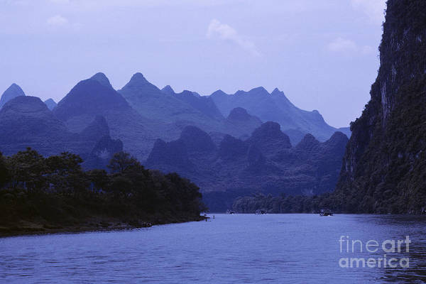 Asian Art Art Print featuring the photograph China, Guilin by Larry Dale Gordon - Printscapes