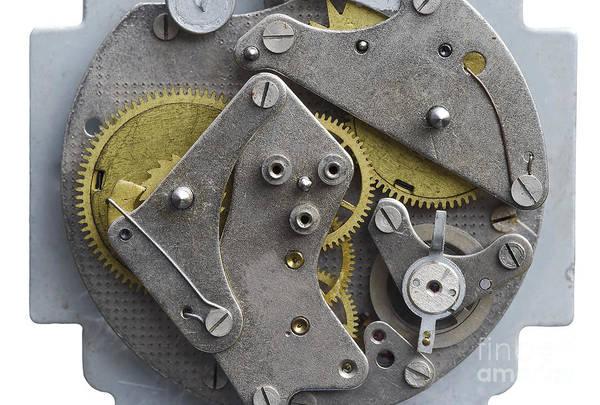 Clockwork Art Print featuring the photograph Clockwork Mechanism by Michal Boubin
