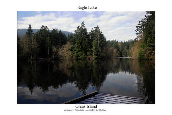 Island Photographs Art Print featuring the photograph Eagle Lake by William Jones