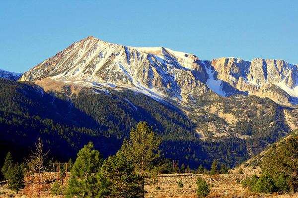 Mountains Art Print featuring the photograph Eastern Sierras by Lynn Bawden
