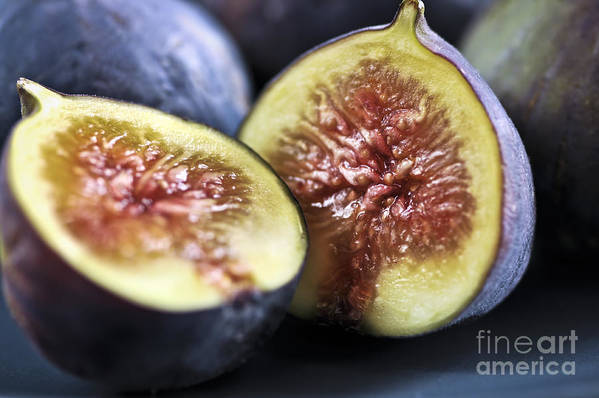 Fig Art Print featuring the photograph Figs by Elena Elisseeva