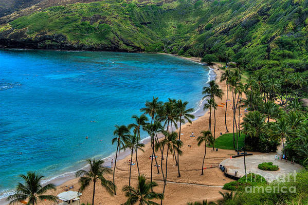 Hanauma Art Print featuring the photograph Hanauma Bay by Neil Doren