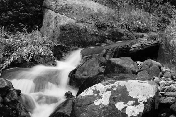 Waterfall Art Print featuring the photograph Hidden Falls by Brian Anderson