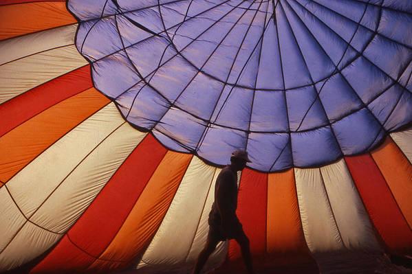 Hot Air Balloon Art Print featuring the photograph Hot Air Balloon - 11 by Randy Muir