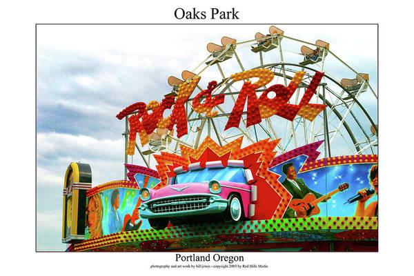 Portland Photographs Art Print featuring the photograph Oaks Park by William Jones