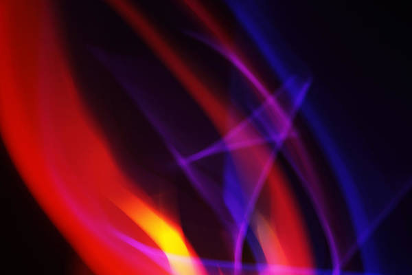 Abstract Art Print featuring the photograph Painting With Light 6 by Chris Rodenberg