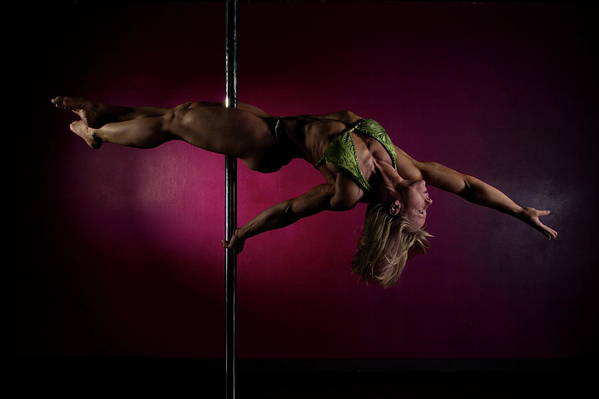 Strength Art Print featuring the photograph Pole Position 1 by Monte Arnold