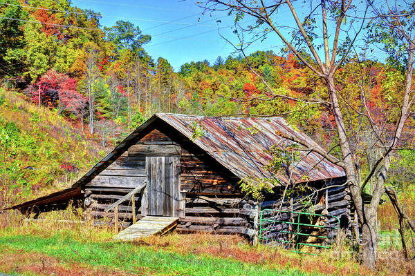 Rural Barn Art Print featuring the photograph Rural Barn by Savannah Gibbs