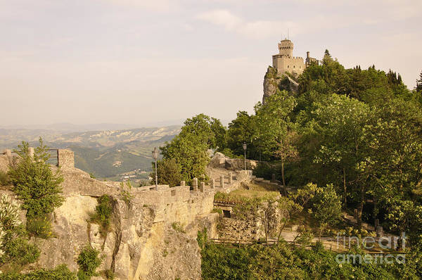 San Marino Art Print featuring the photograph San Marino by LS Photography