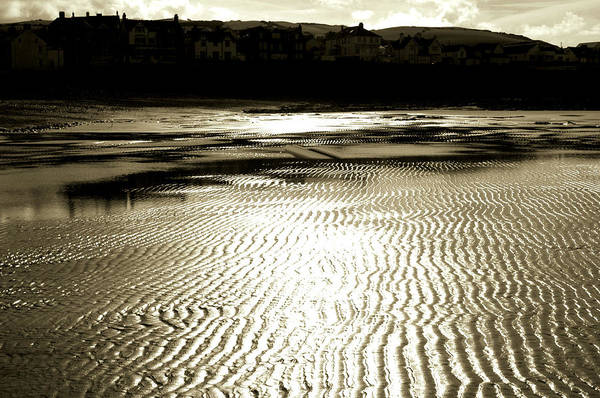 Sand/light. Art Print featuring the photograph Sand Patterns. by Phil Panton
