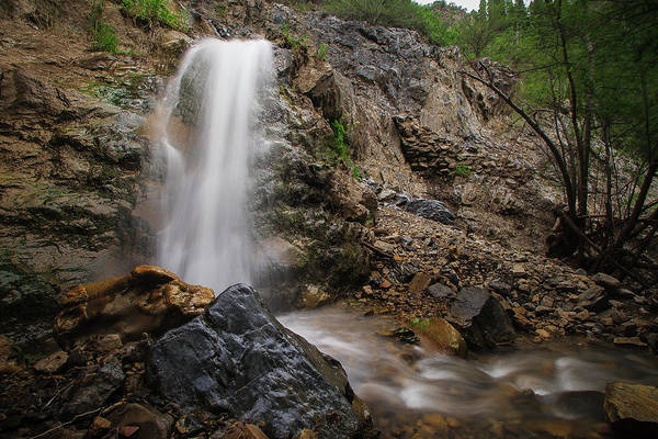 Trailsxposed Art Print featuring the photograph Secret Falls by Gina Herbert