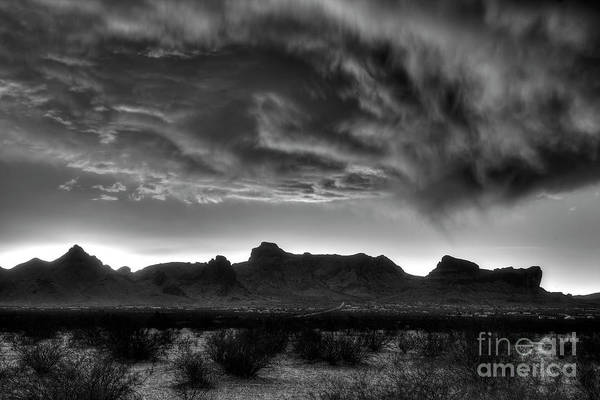 Nature Art Print featuring the photograph Snow Clouds 1 by Rick Mann