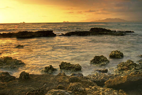 Oahu Art Print featuring the photograph Sunrise Kaneohe by Michael Peychich