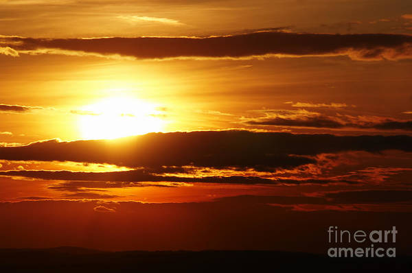 Sunset Art Print featuring the photograph Sunset by Michal Boubin