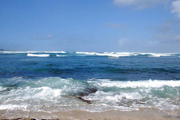 Seascape Art Print featuring the photograph Hawaii by Thea Wolff