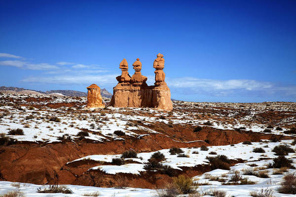 Goblin Valley State Park Art Print featuring the photograph Goblin Valley by Mark Smith