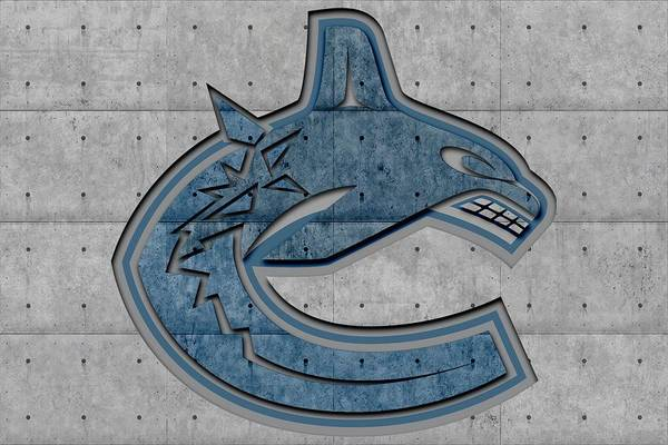 Canucks Art Print featuring the photograph Vancouver Canucks by Joe Hamilton