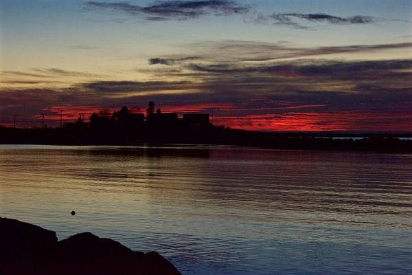 Landscape Art Print featuring the photograph Sunrise by Christine Russell